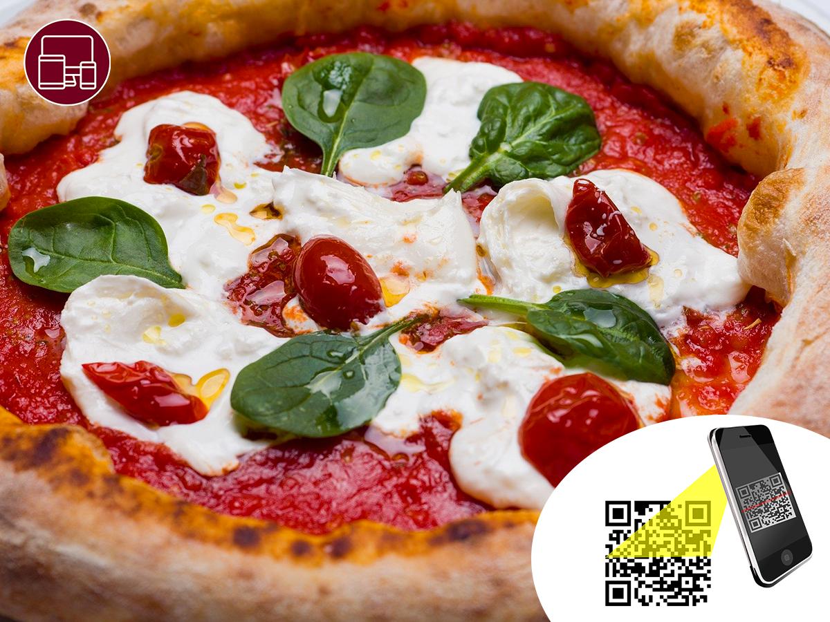 Realizza il tuo menù digitale personalizzato!