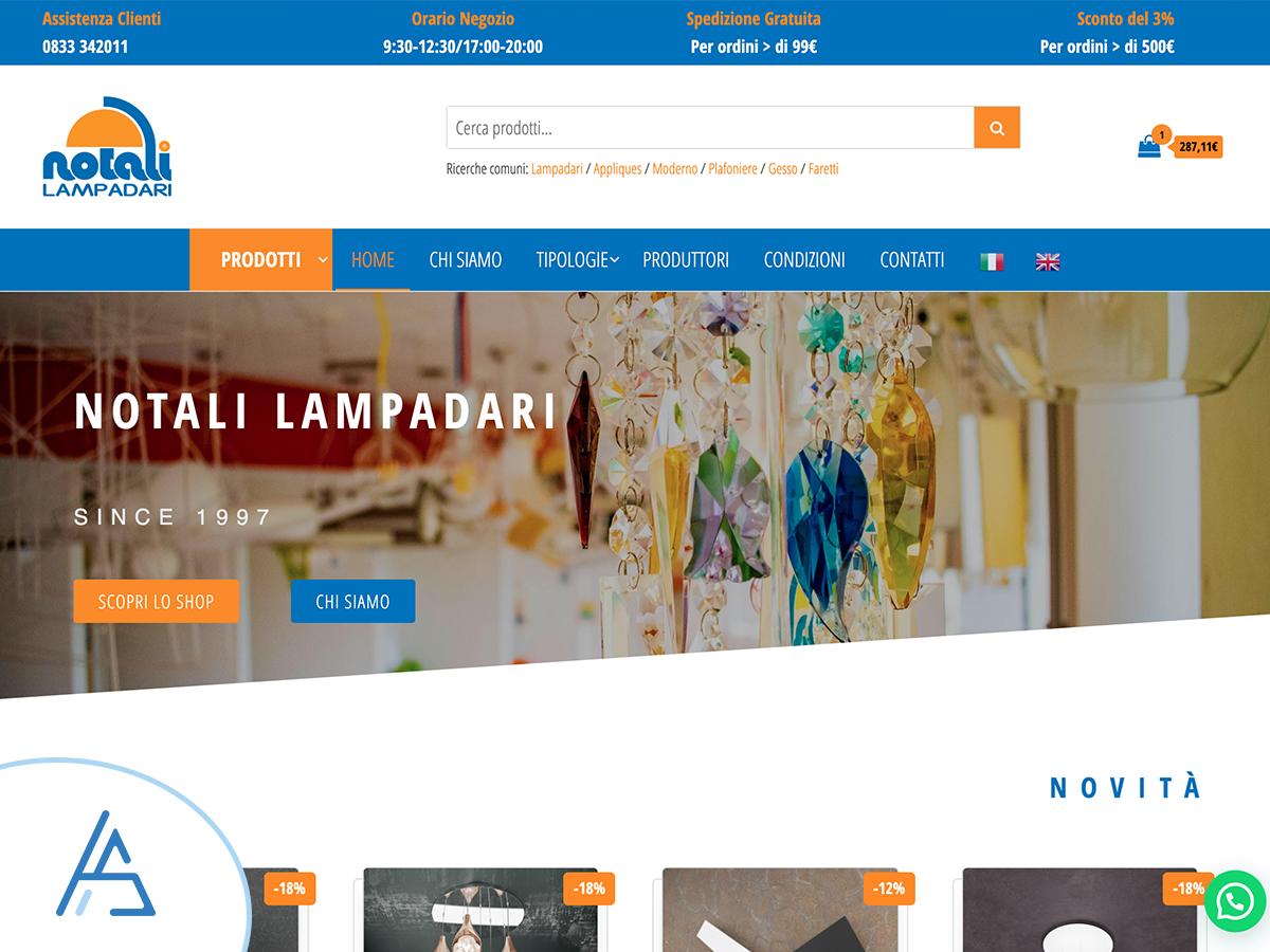 Nuovo e-commerce online